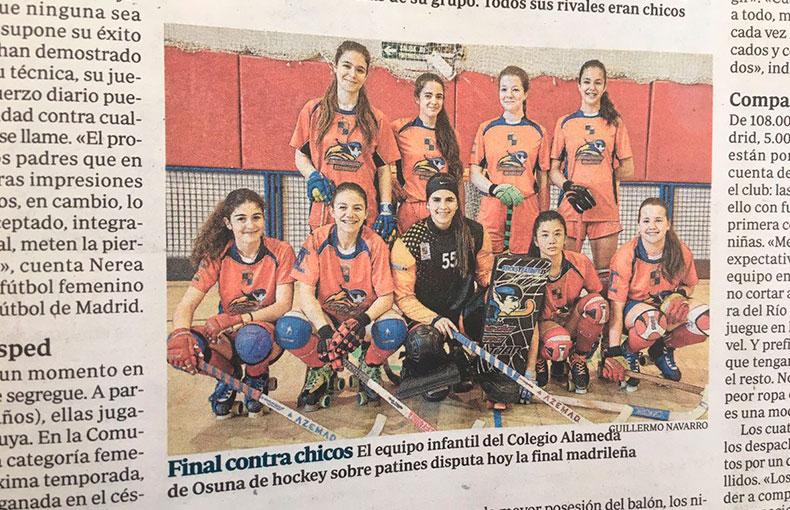 Hockey Femenino Colegio Alameda