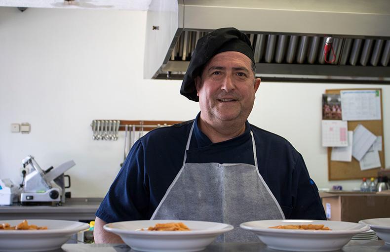 Pablo Ramirez Cocinero Alameda de Osuna