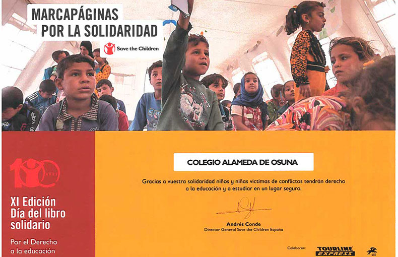 Alameda Solidaria Save The Children