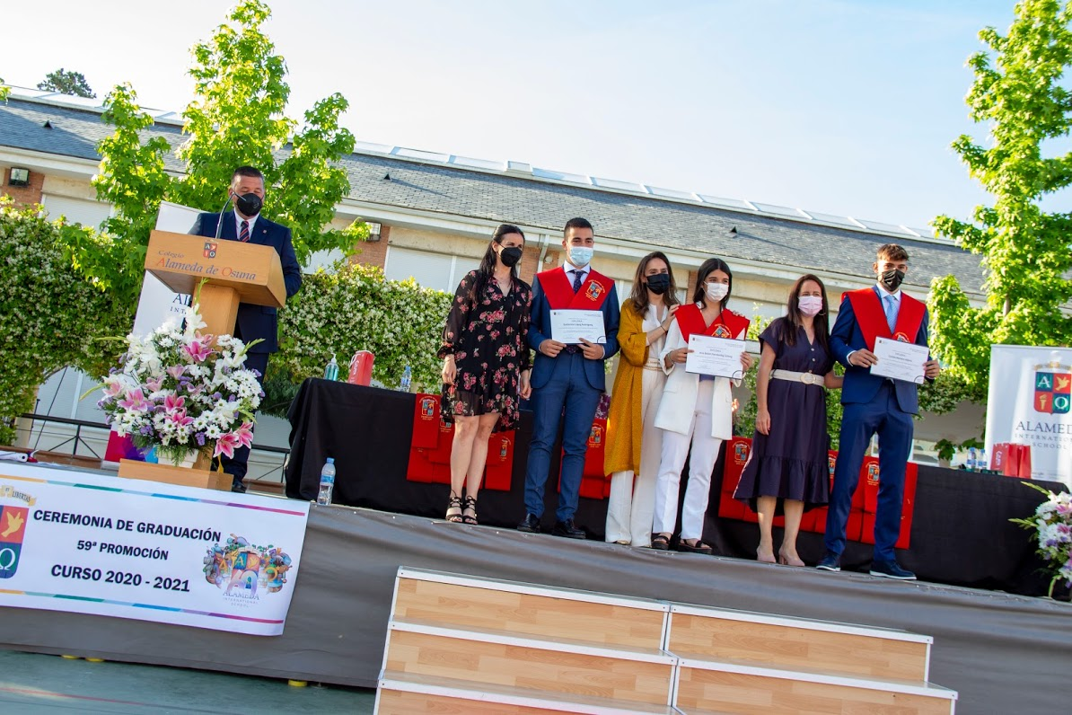 Graduación 2021 Bachillerato
